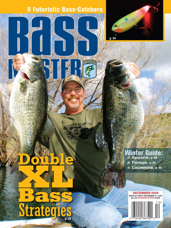 Mike Long on Bassmaster Magazine cover