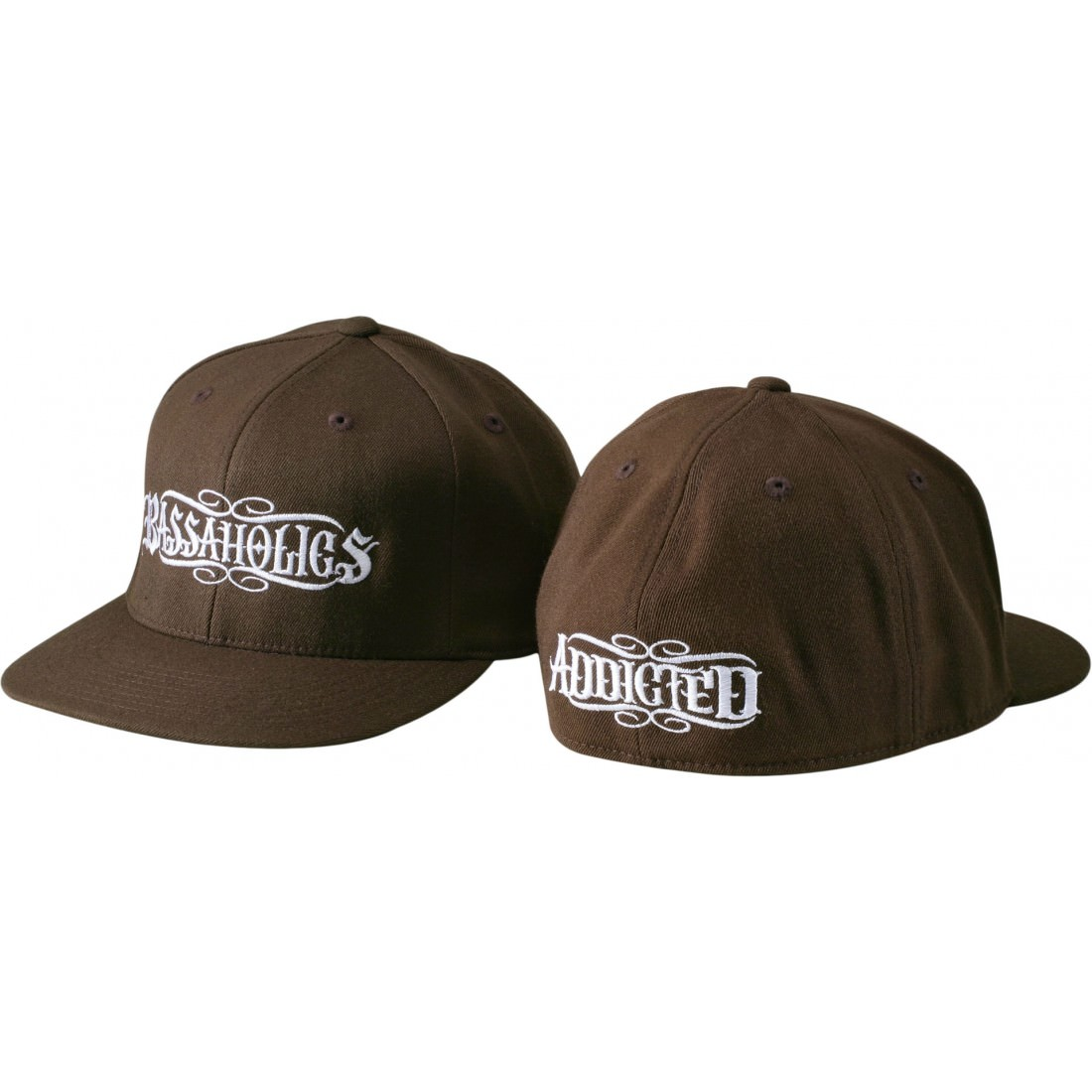B Rush Mens Fitted Hat Brown