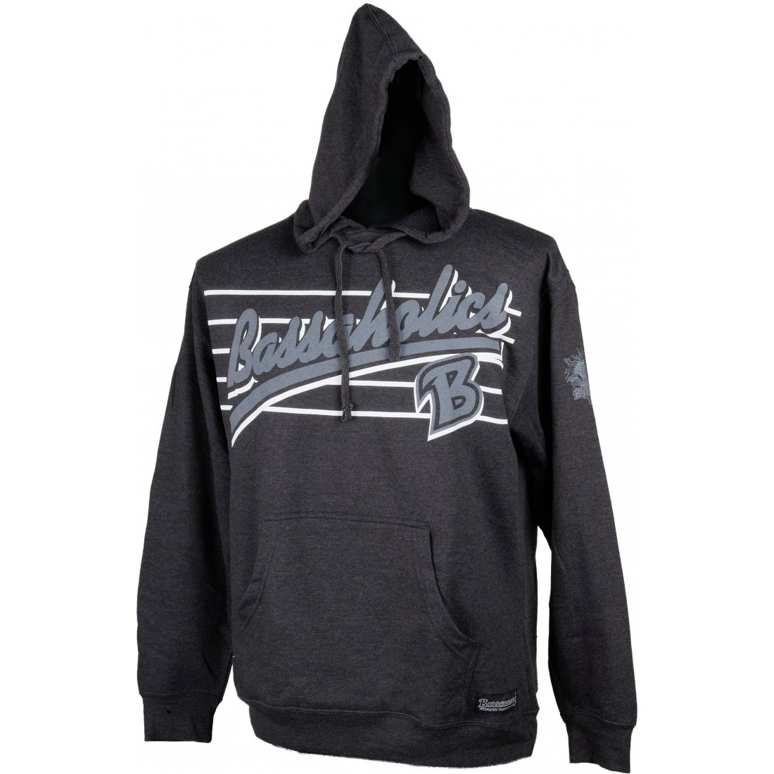 B Metal Bass Fishing Hoodie