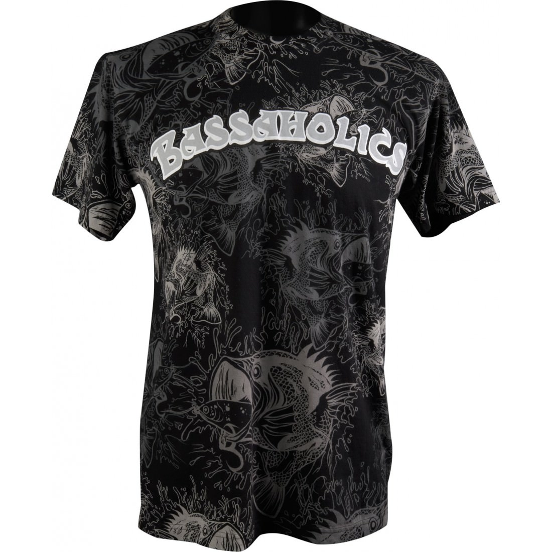 Over the Top Mens T-Shirt in Black