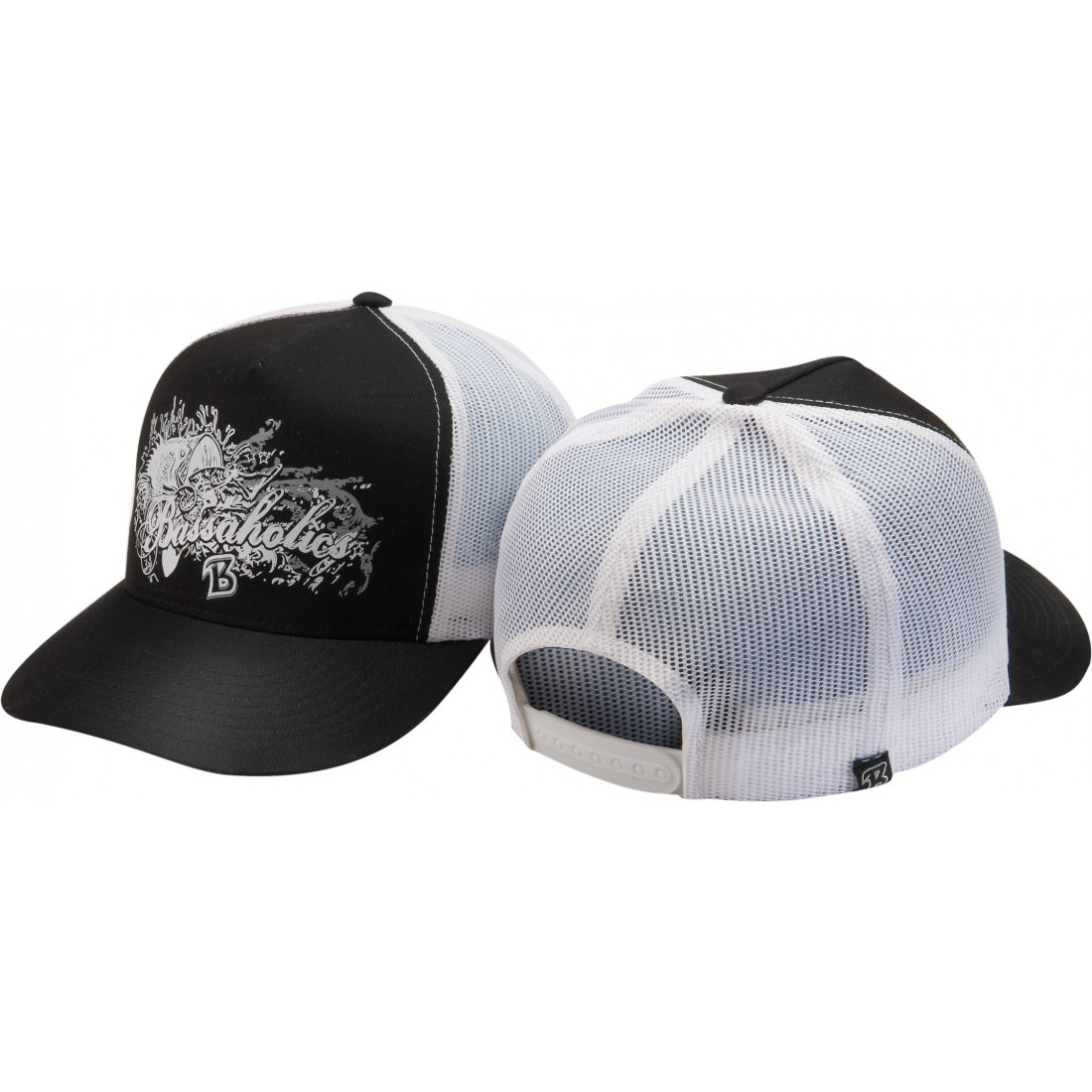 Transcript mens trucker hat Black & White