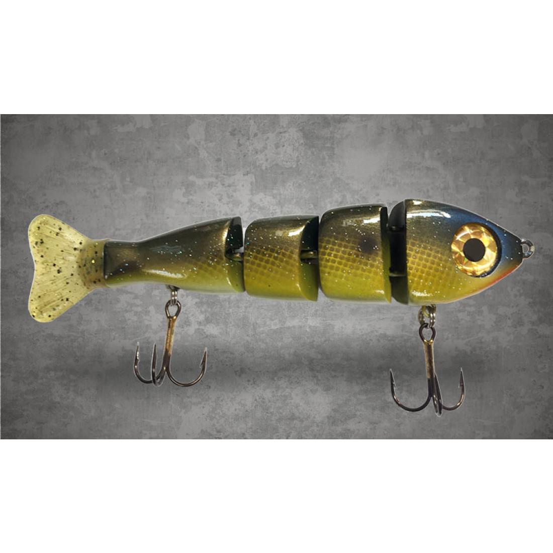 Triple Trout Stubby 4 piece Cali Gill Swimbait 6 inch