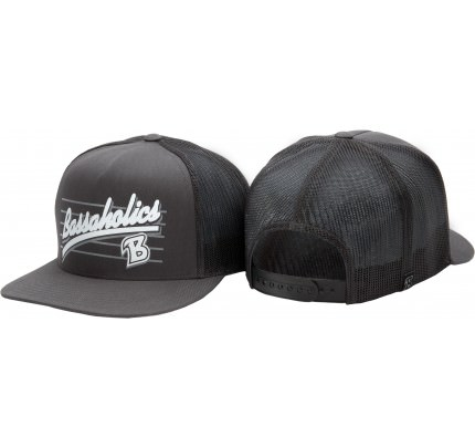 B Metal Trucker Hat