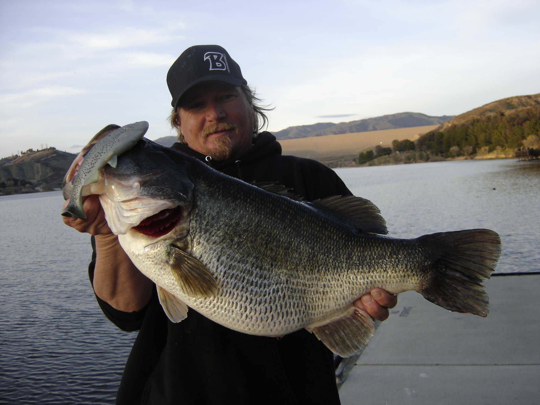 Big bass photos bassaholics blog for Best fishing in california